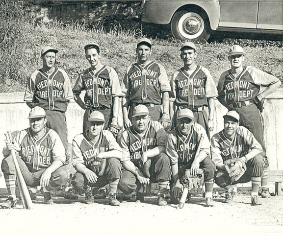 piedmont fire and 2 police officers playing baseball 1949.jpg
