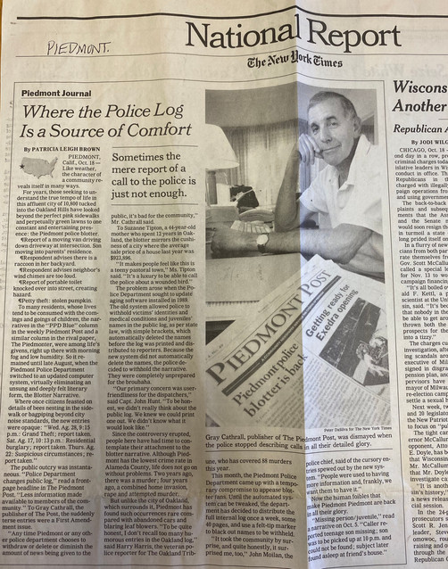 Piedmont - police log NY Times.jpg