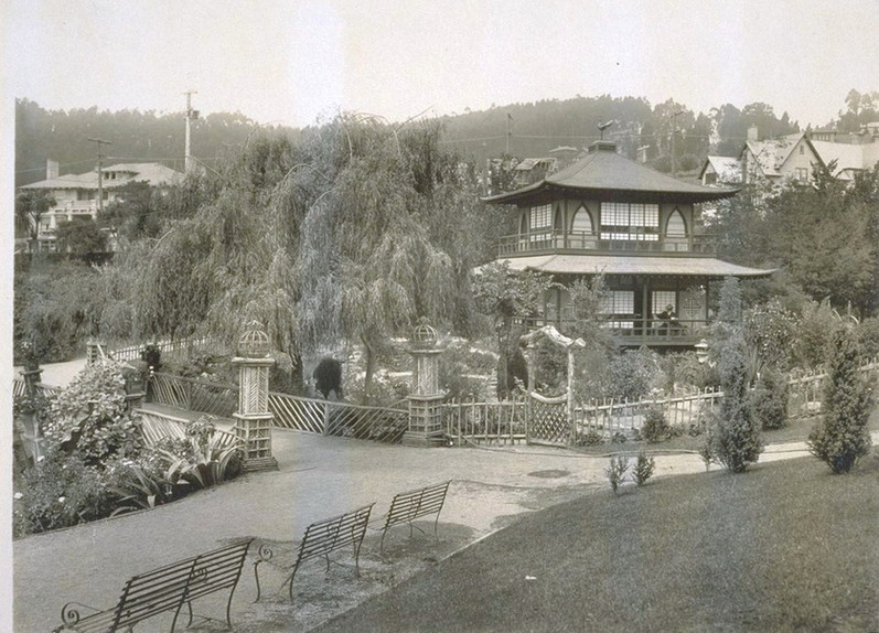 Piedmont tea house