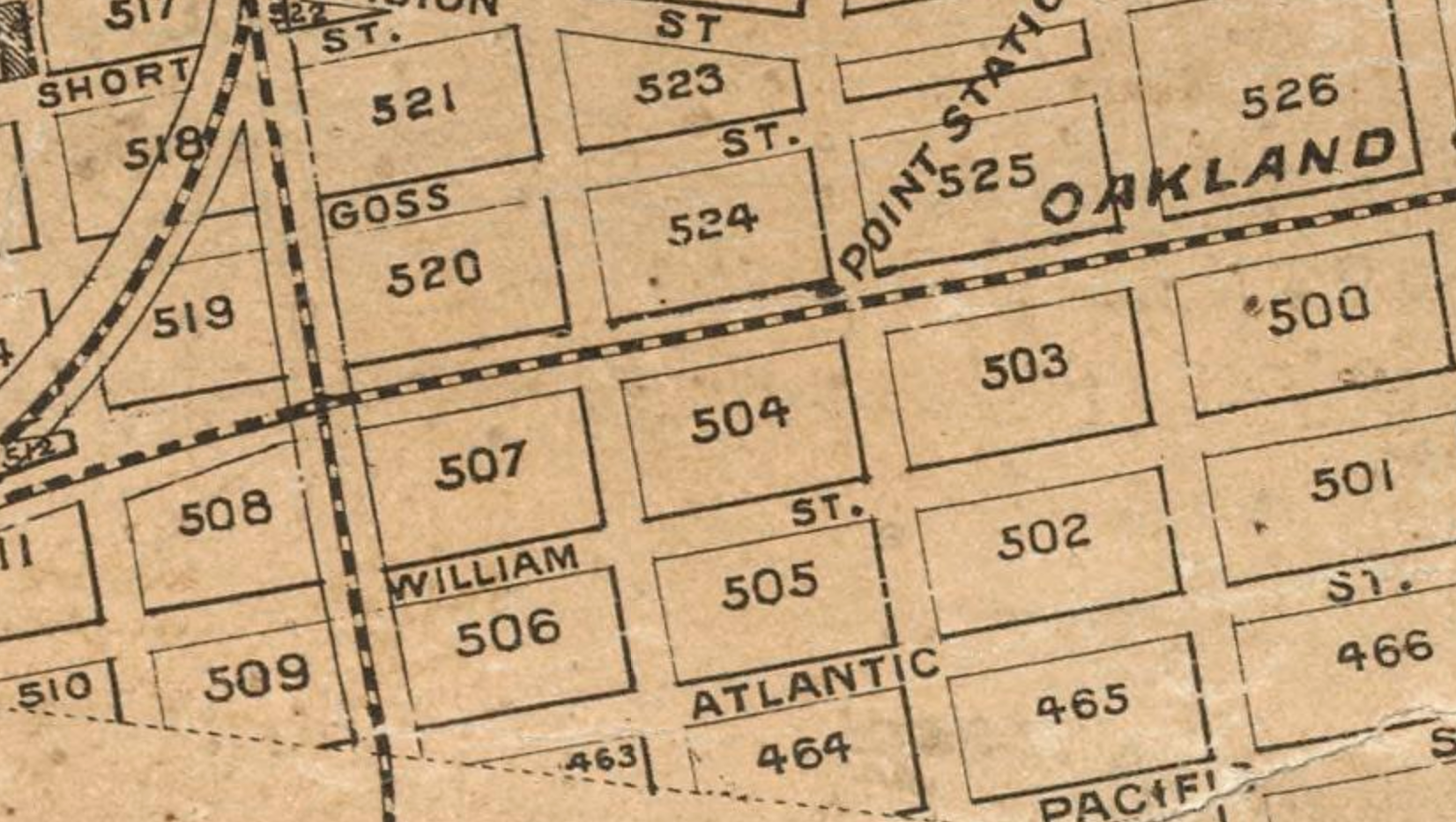 Map of west oakland 7th street.png