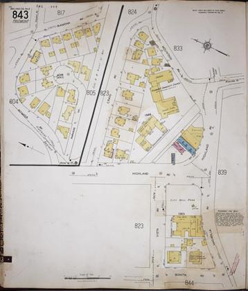 1929 Sanborn map - City Hall Police Downtown Highland copy.jpg