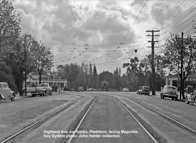 Piedmont - Train - 10 - Highland Ave tracks.jpg