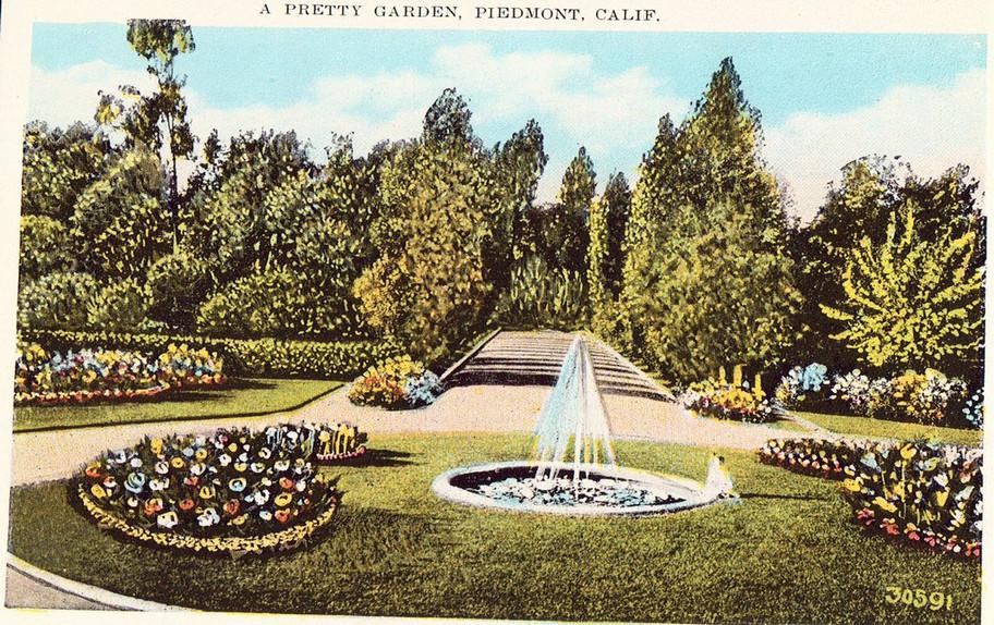Piedmont - a pretty garden