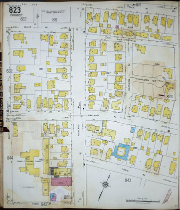 1929 Sanborn map - Havens and downtown stores highland.jpg