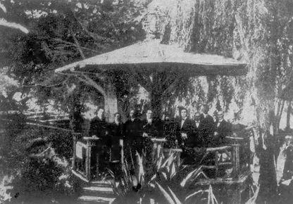bandstain in piedmont park - Oakland_Tri