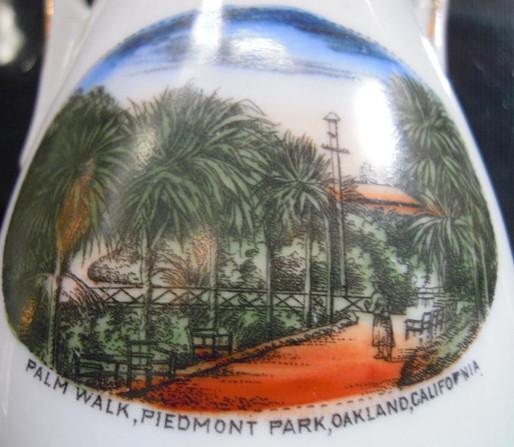 Postcard - Piedmont Park - Palms - Bridg