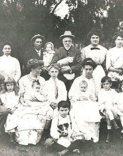 1912 C. A. Hooper family and household s