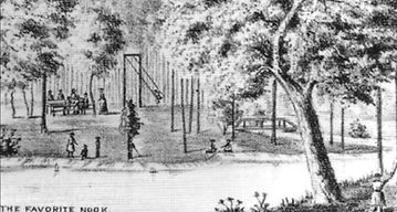 Blair's Park offered picnic tables, swin