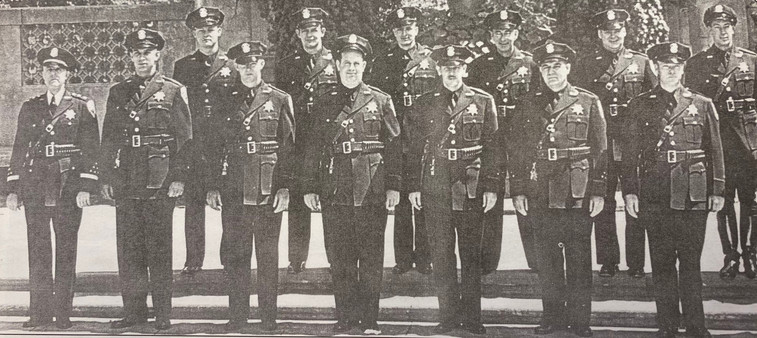 Piedmont Police in 1949