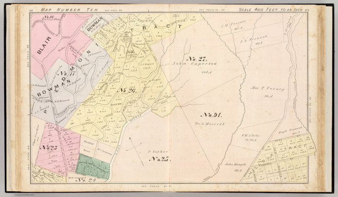 1878 - Map of Piedmont park and sulpur w