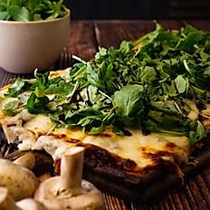 Mushroom & Arugula Flatbread