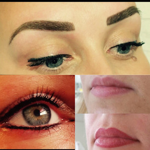 Lips, Brows and Eyeline