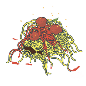 Spaghetti monster flash