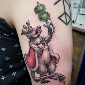 Rat King Tattoo