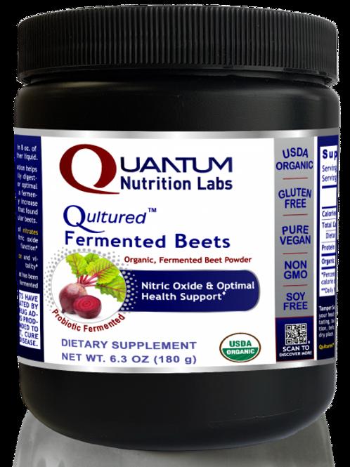 Fermented Beet Powder, Quantum Nutrition Labs (6.3oz)