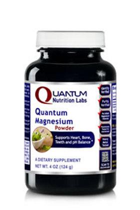Magnesium Powder, Quantum Nutrition Labs (40z)