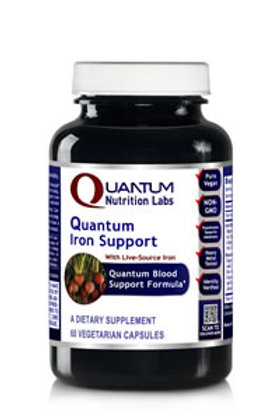 Iron Support, Quantum Nutrition Labs (60Vcaps)