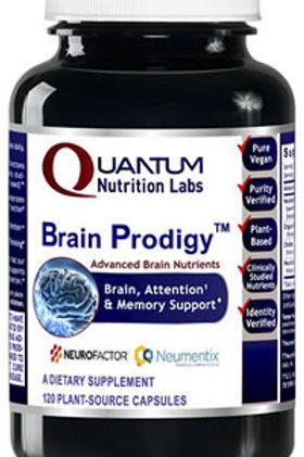 Brain Prodigy, Quantum Nutrition Labs (120Vcaps)