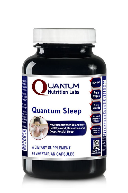 Sleep and Mood, Quantum Nutrition Labs (Formerly Sleep 90Vcaps)