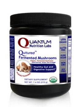 Fermented Mushroom Powder, Quantum Nutrition Labs (7.4oz)