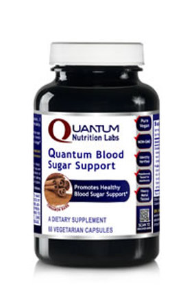Blood Sugar Support,Quantum Nutrition Labs (60Vcaps)