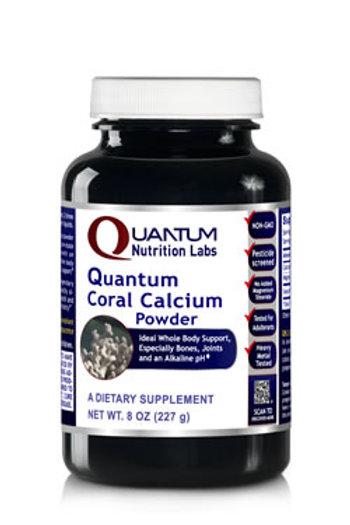 Coral Calcium Powder, Quantum Nutrition Labs (8oz)