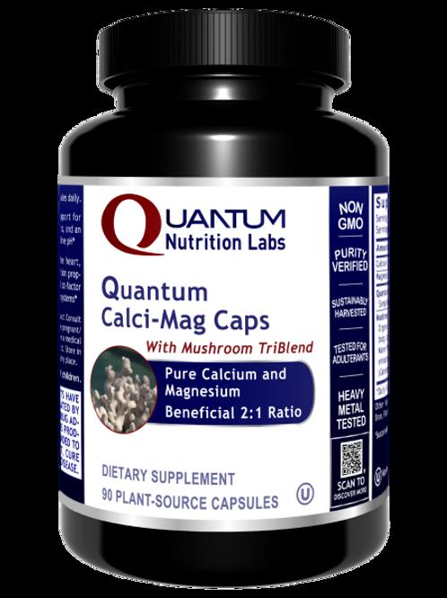 Calci-Mag (Formerly Coral Calcium), Quantum Nutrition Labs (90Vcaps)