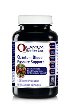 Blood Pressure Support, Quantum Nutrition Labs (60Vcaps)