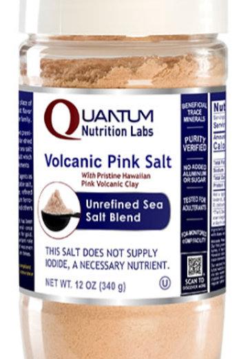 Volcanic Pink Salt, Quantum Nutrition Labs (12oz)