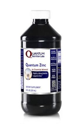 Zinc Liquid, Quantum Nutrition Labs (8oz)