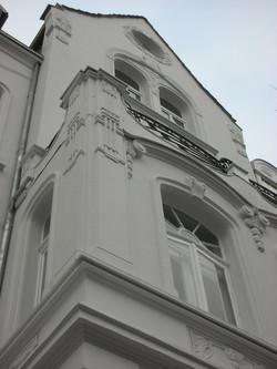 Fassadensanierung Denkmalschutz