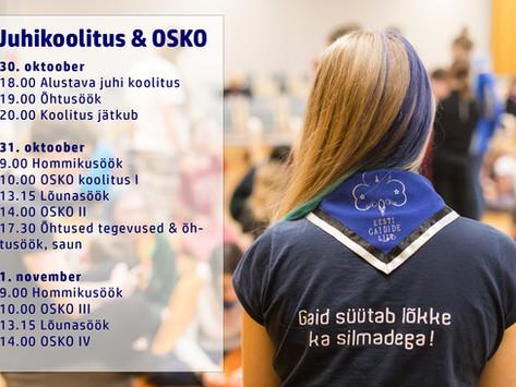 Juhikoolitus & OSKO 2020
