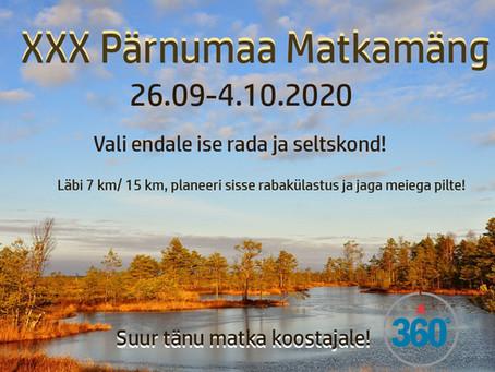 XXX Pärnumaa Matkamäng