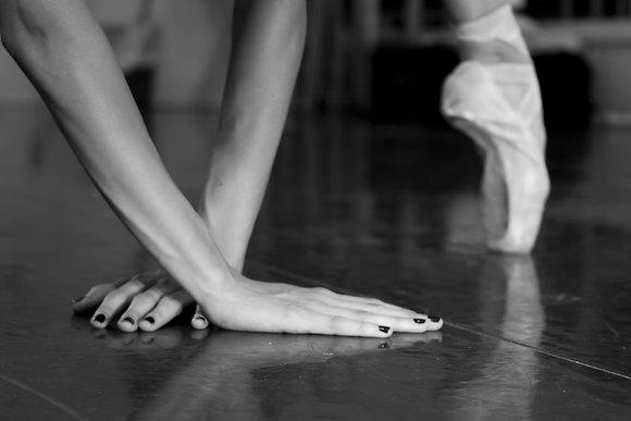 Hands of a Dancer 8X10 inch print