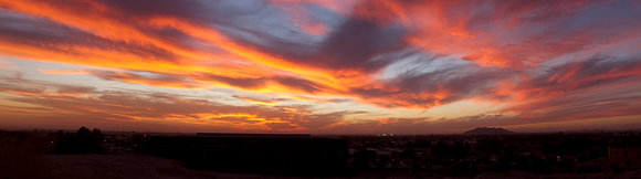 Yuma Sky panoramic print