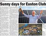 Sunny Days for Euton Club VCE solar micr