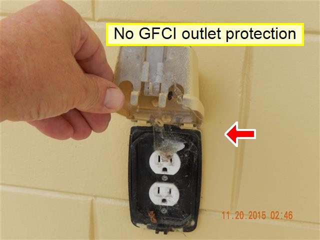 No GFCI