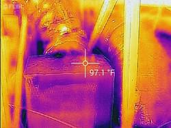 Air conditioning in attic