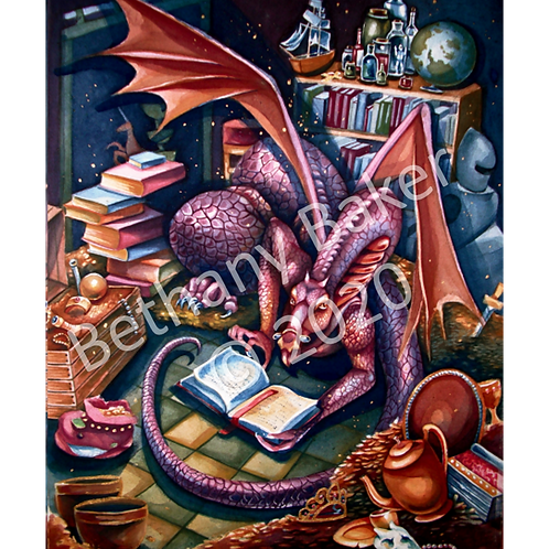 The Dragon's Library
