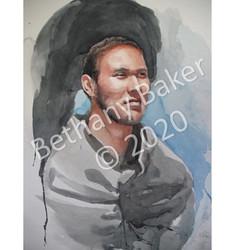 portrait of man wm