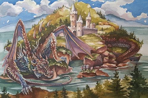 Dragon Island (ORIGINAL 1 of 1)