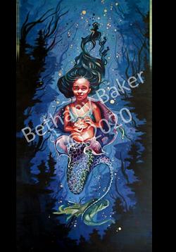 girl mermaid wm