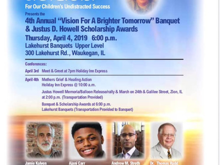 The American Activist Eric Russell guest speaker at 4th Annual Event for Justus Howell.
