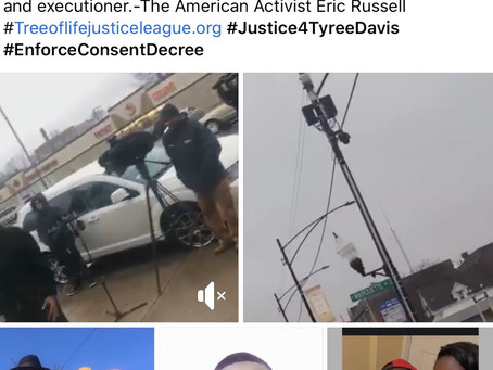 Black Lives in Mental Crisis Matters! Justice for 26yr old mentally ill Tyree Davis killed by Chicag