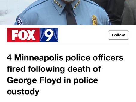 Racist MINNEAPOLIS Cop Murder yet another unarmed black man .
