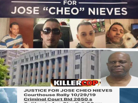 Send Killer Cop to Jail #Justice4Cheo