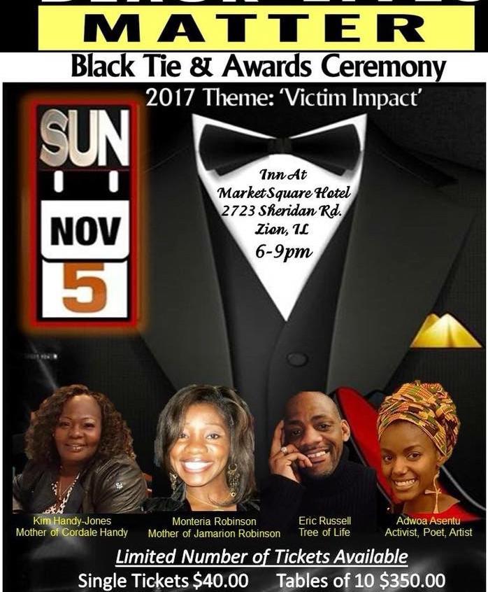 BLACK LIVES MATTER AWARD