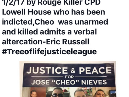 Justice for Jose Cheo Nieves !
