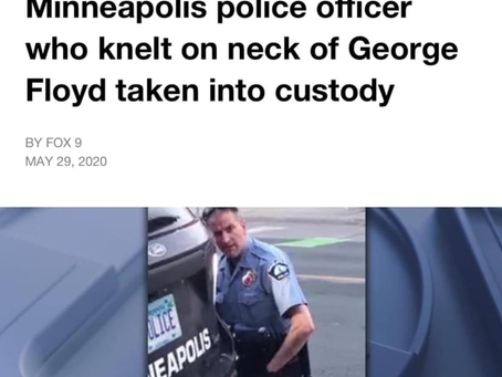 Justice for George Floyd ! Indict Convict Send All the Minneapolis Killer Cops to Jail !