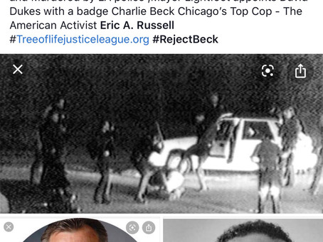 Chicago,s Black community rejects Former LA Police Chief Charlie Beck as interim Supt of Police